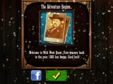 Wild West Quest iPad My achievement: The Adventure Begins...