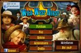 Wild West Quest iPhone Title and main menu. As this is the demo version, there is a Purchase button.