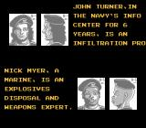 Snake's Revenge NES Meet John and Nick, your new FOX-HOUND allies!