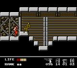 Snake's Revenge NES One of the game's few side-scrolling segments.