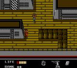 Snake's Revenge NES ...and finds himself on a cargo ship...