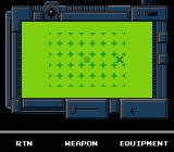 Snake's Revenge NES Use the Radar Map to track down any signal from your allies.