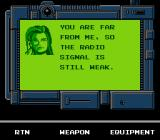 Snake's Revenge NES The mysterious Jennifer, an old ally from Outer Heaven, but is she a friend or foe this time?
