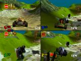S.C.A.R.S. PlayStation Aztec level, the game supports 4 player splitscreen