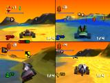 S.C.A.R.S. PlayStation Island level, more 4 player action