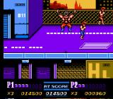 Double Dragon II: The Revenge NES Burnov makes a disappearing act.
