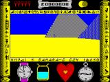 Total Eclipse: Special Edition ZX Spectrum Adventure start position