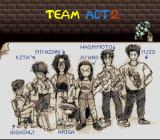 ActRaiser 2 SNES A sketch of development team