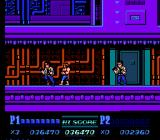Double Dragon II: The Revenge NES Cornered by a pair of right-hand men.