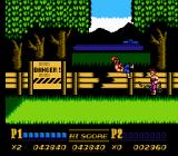 Double Dragon II: The Revenge NES Be careful of Linda's chain whip