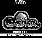 "Casper Game Boy Nice ""logo"". The Rev Chuck, who the hell are you?"