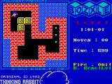 Bozxle ZX Spectrum In-game screen