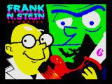 Frank N Stein Re-booted ZX Spectrum Load screen