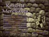 Knights and Merchants Windows Main menu (regular version, Dutch)