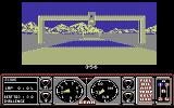 Hard Drivin' Commodore 64 Starting a race