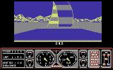 Hard Drivin' Commodore 64 A loop ahead of you