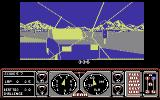 Hard Drivin' Commodore 64 A crash!