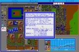 "SimCity Sharp X68000 ""About SimCity"" menu"