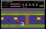 Kung-Fu Master Commodore 64 Gameplay on the first level