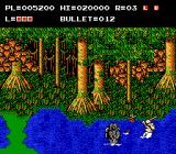The Adventures of Bayou Billy NES Billy shoots a fatman in front of two frogmen
