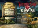 Vampire Saga: Welcome to Hell Lock Windows Title and main menu