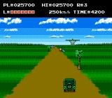 The Adventures of Bayou Billy NES There are trees in the grasslands and the jeep throws dynamites instead of grenades.