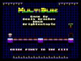 MultiDude ZX Spectrum Main screen