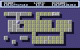 Sensitive Commodore 64 Level 4, not sure if this level is supposed to look like something