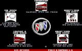 Buick Dimensions DOS The main menu. 