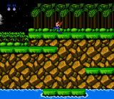 Contra NES Palm trees are now animated in the Japanese version.
