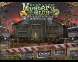 Unsolved Mystery Club: Ancient Astronauts (Collector's Edition) Windows Title and main menu