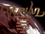Tyrian iPad Title and main menu