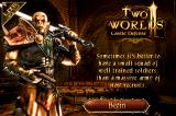Two Worlds II: Castle Defense iPhone Loading screen