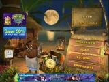 The Treasures of Mystery Island iPad Main menu