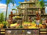 The Treasures of Mystery Island iPad Searching the pyramid