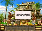 The Treasures of Mystery Island iPad I have helped the shaman.