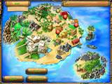 The Treasures of Mystery Island iPad The map shows the next areas to search.