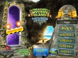The Treasures of Mystery Island: The Gates of Fate iPad Title and main menu