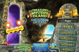 The Treasures of Mystery Island: The Gates of Fate iPhone Title and man menu