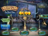 The Treasures of Mystery Island: The Ghost Ship iPad Title and main menu
