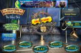 The Treasures of Mystery Island: The Ghost Ship iPhone Title and main menu