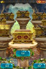 The Treasures of Montezuma 3 iPhone One chest opened now on to the next