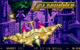 Goldrunner Amiga title screen