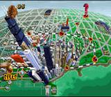 Michael Jordan:  Chaos in the Windy City SNES City-map