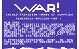 Thermo Nuclear War Games Commodore 64 Intro