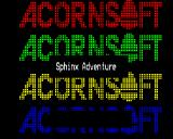 Sphinx Adventure BBC Micro Loading screen