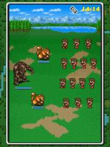 Final Fantasy: All The Bravest iPad Fighting animals outside