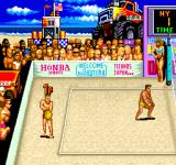 U.S. Championship V'Ball Arcade Serving in the first match (American version)