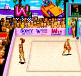 U.S. Championship V'Ball Arcade Serving in Los Angeles (American version)