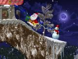 Christmas Eve Crisis Windows Level 7: a snow man and house for the gifts